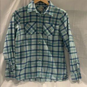 L.L. Bean Cotton Freeport Flannel Shirt